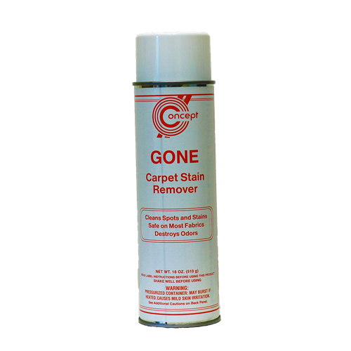GONE CARPET STAIN REMOVER AEROSOL, 12/CS