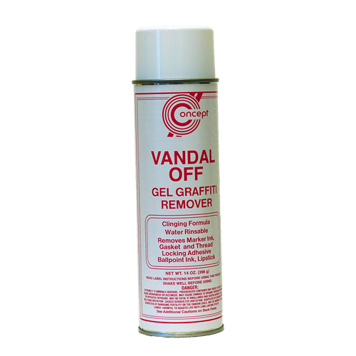 VANDAL OFF GEL GRAFFITI REMOVER, 12/CS