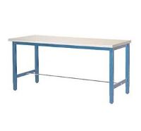 "72""W X 24""D PRODUCTION WORKBENCH - PLASTIC LAMINATE"
